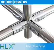 Brand New Steel Lean Pipe with Metal Joint, Welded Hollow Steel Pipe Sizes
