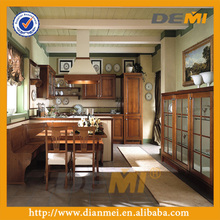 beech wood kitchen cabinet from China factory