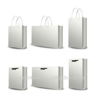 various paper bag template