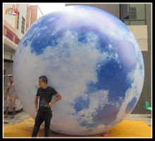 pvc giant fly balloon , inflatable helium balloon , giant sphere for sale