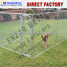Hot Dipped Galvanized Chain Link Commercial Dog Cage