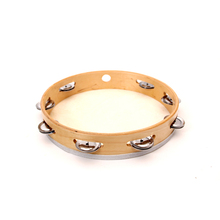 "10"" wood tambourine for sale Musical Instruments percussion"