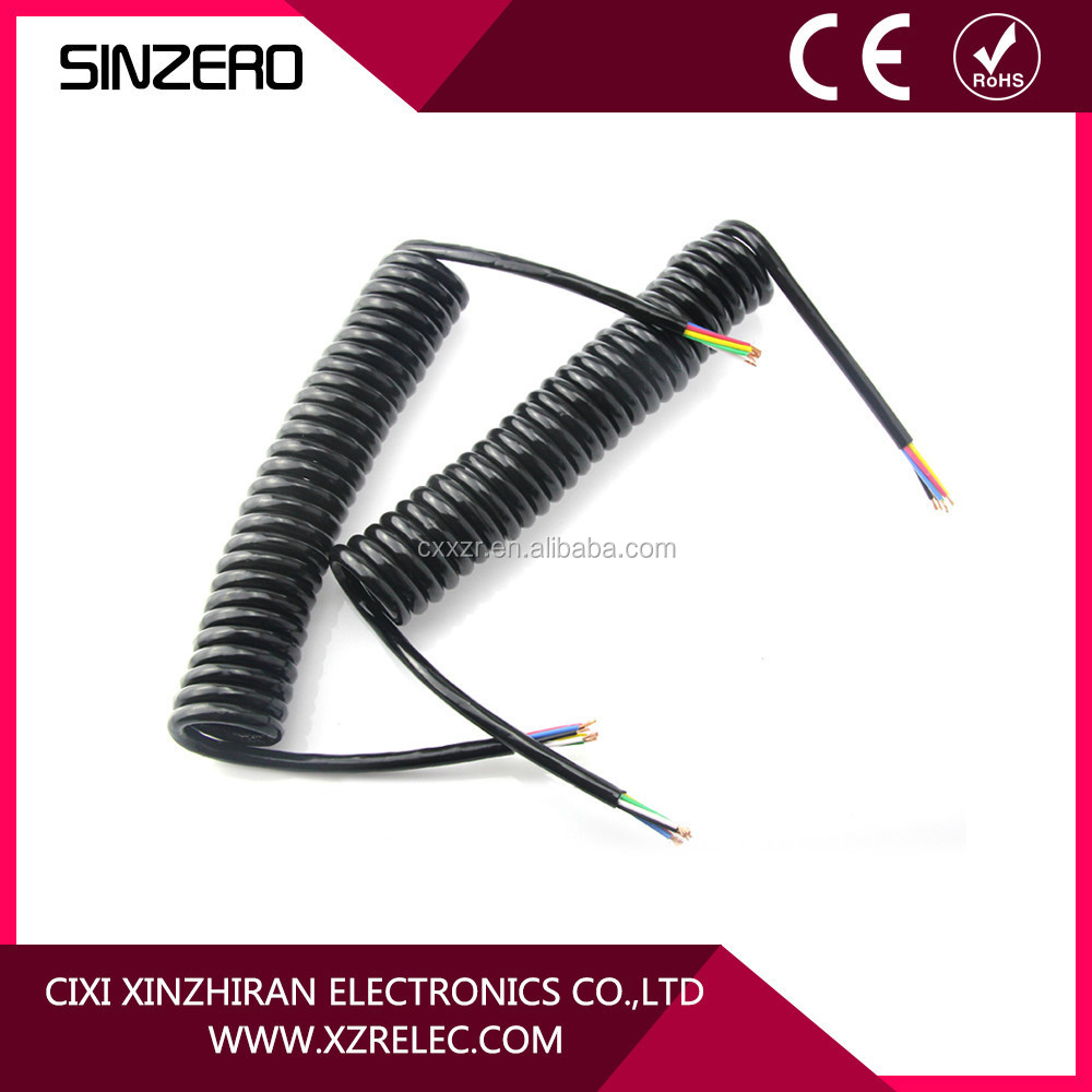 7 Way truck trailer parts seven electrical cable