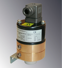 CE Approved air differential pressure switch applied to monitor pump status and boiler flow or filter condition