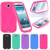 Tpu Silicon Case For Samsung Galaxy S3 I9300 Full Body Protector