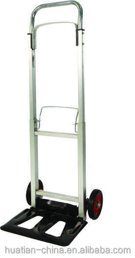 100KG foldable stair hand trolley ,Aluminum Frame Hand Trolly