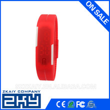 Wristwatches Touch Digital LED Sports Silicon Watch Wrist Watch silicone led watch