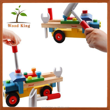 Export France Tools Remove Install Nut Car Children Start Diy Wooden Screws Toy Car Assembly Kit