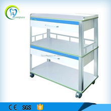 Mobile dental cabinet for dental clinic use