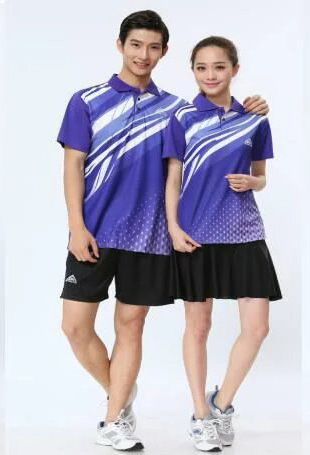 Best offer stylish design unisex sports badminton uniform