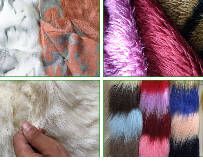 Wholesale High Quality Custom Luxury Long Pile Fake Fur Artificial Faux Fur Fabric