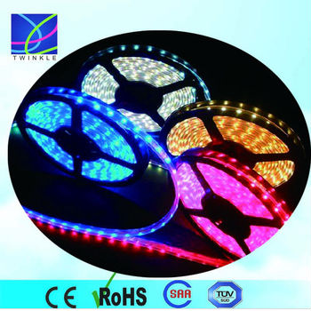 5050 addressable rgb led strip 5Mtr 7.2 Watts per Mtr led stripe light with controller