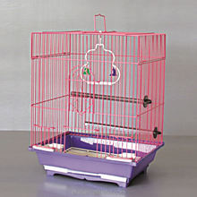 Main product special design 100% Non-toxic powder coated movable birdcages for pets birds