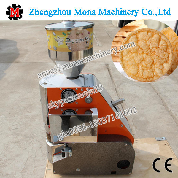 High Quality Common Rice -artificial Rice Cake Popping Machine