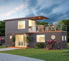 100% Pre made Duplex Container House Kits