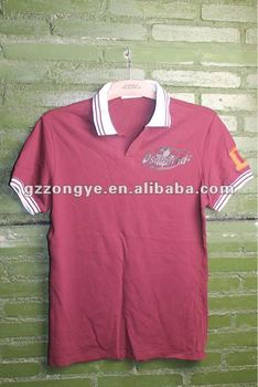 Cotton polo T shirt for men