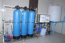 China suppliers high efficient FRP tank ro water plant with water filter cartridge/ceramics water filter cartridge