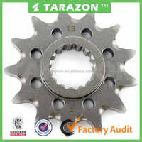 High quality motorcycle front stainless steel small sprocket for 400 RR