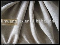 linen like cation blackout curtain fabric