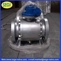 ANSI PTFE Lined Stainless Steel Ball Valve