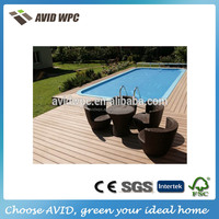 outdoor composite deck board,home depot Wood plastic composite, wpc decking