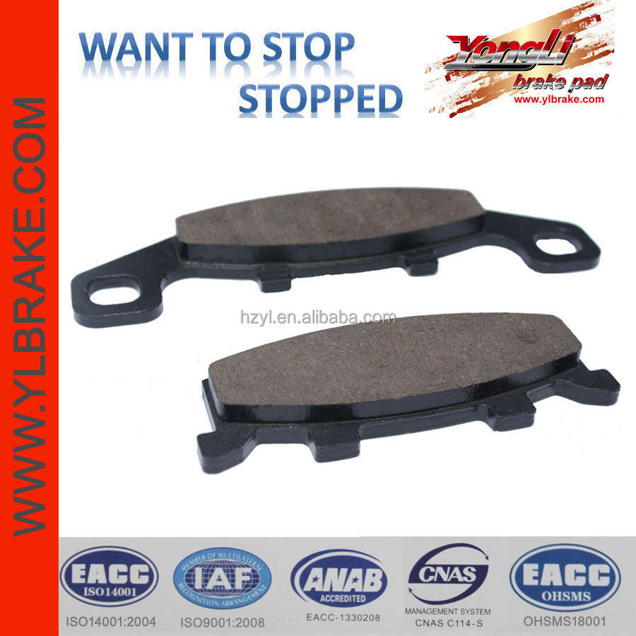 Top quality motorcycle disc brake friction pads,kawasaki brake pad motorcycle,wholesale durable motorcycle brake system parts