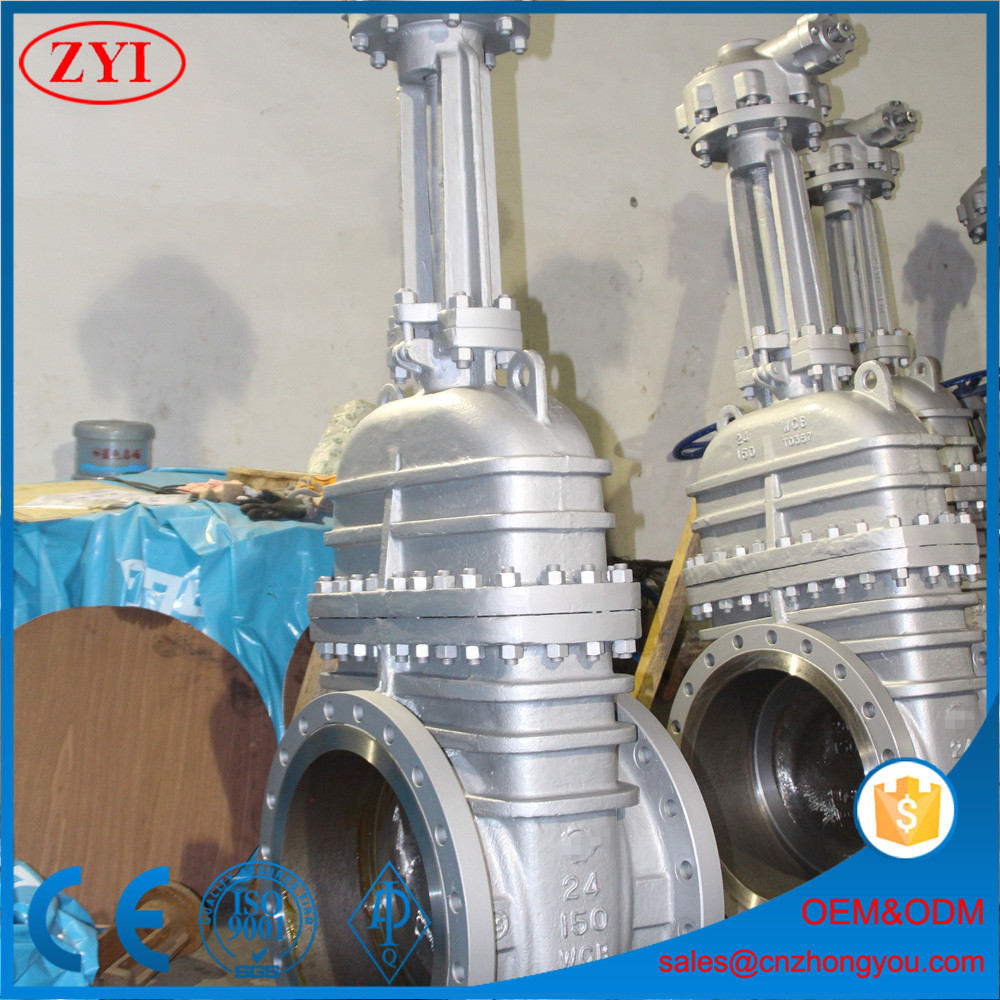 cast iron Non-rising stem parallel double disk gate valve