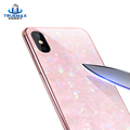 2018 New Hot Protective Cell Phone Case Tempered Glass Cover Case for iPhone X 8 7 6 Plus
