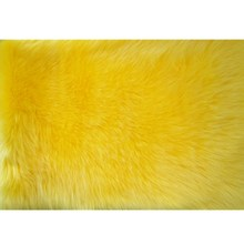 100%acrylic long pile faux fur fabric use lady fur coat