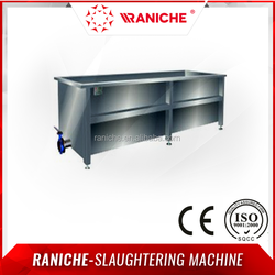 High Quality Poultry Slaughtering Equipment/Chicken Slaughterhouse Line Wax Cooling Pool