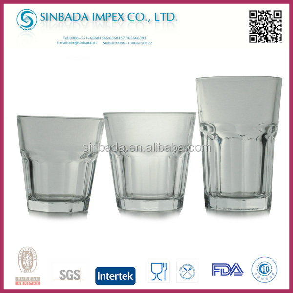 Promotional wholesale cheap lipton glass tea cup for home use