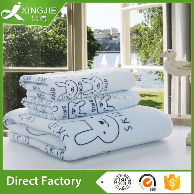 Top 10 China suppliers bath microfiber cartoon towel