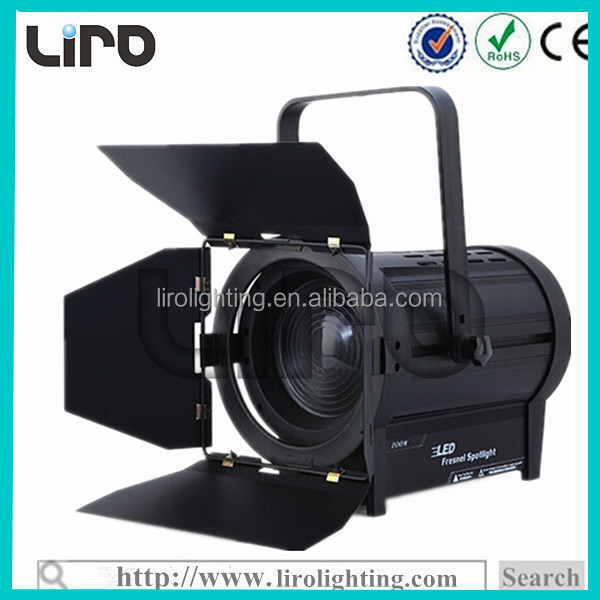200w led fresnel spot studio light