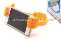 Factory Supply Wholesale Plastic Thumb Mobile Phone Holder with printing Logo