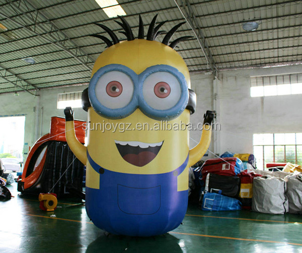 Top Design Inflatable Toy Minions Cartoon Advertisement for Sale