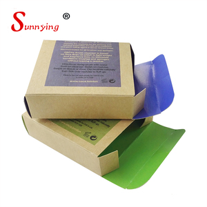 2018 High Quality Eco Friendly Recycling Disposible Soap Kraft Paper Box