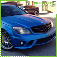 Blue Matte Chrome for Car Wrapping Film/Car Stickers with Air Free Bubbles/Auto Accessories