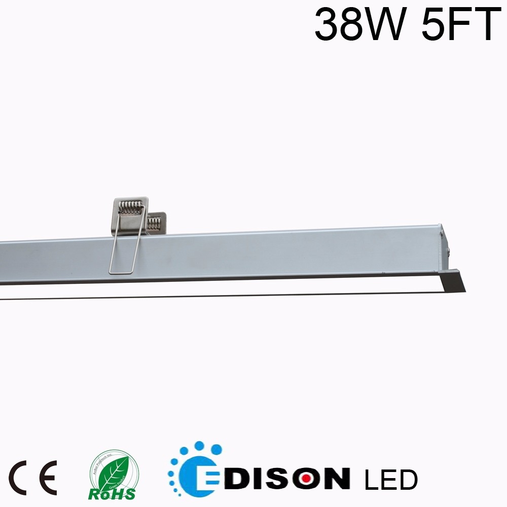 modern office 40w 1200mm dimmable linear pendant light