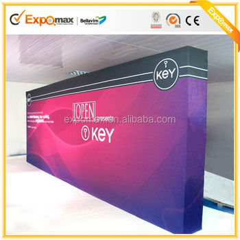 Jiangsu Expo aluminium velcro folding pop up display stand