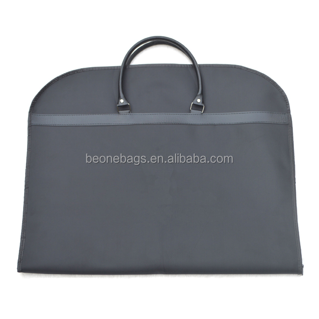 OEM Eco Friendly Breathable Nonwoven Suit Cover Travel Garment Bag Foldable