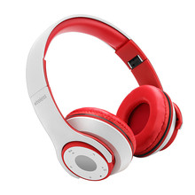 High quality new fashion foldable durable OEM design bulk wireless cheap bluetooth stereo headphone without wire