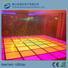 LED Stage wedding square underground decoration light RGB SMD5050 DMX/sensitive led dance floor