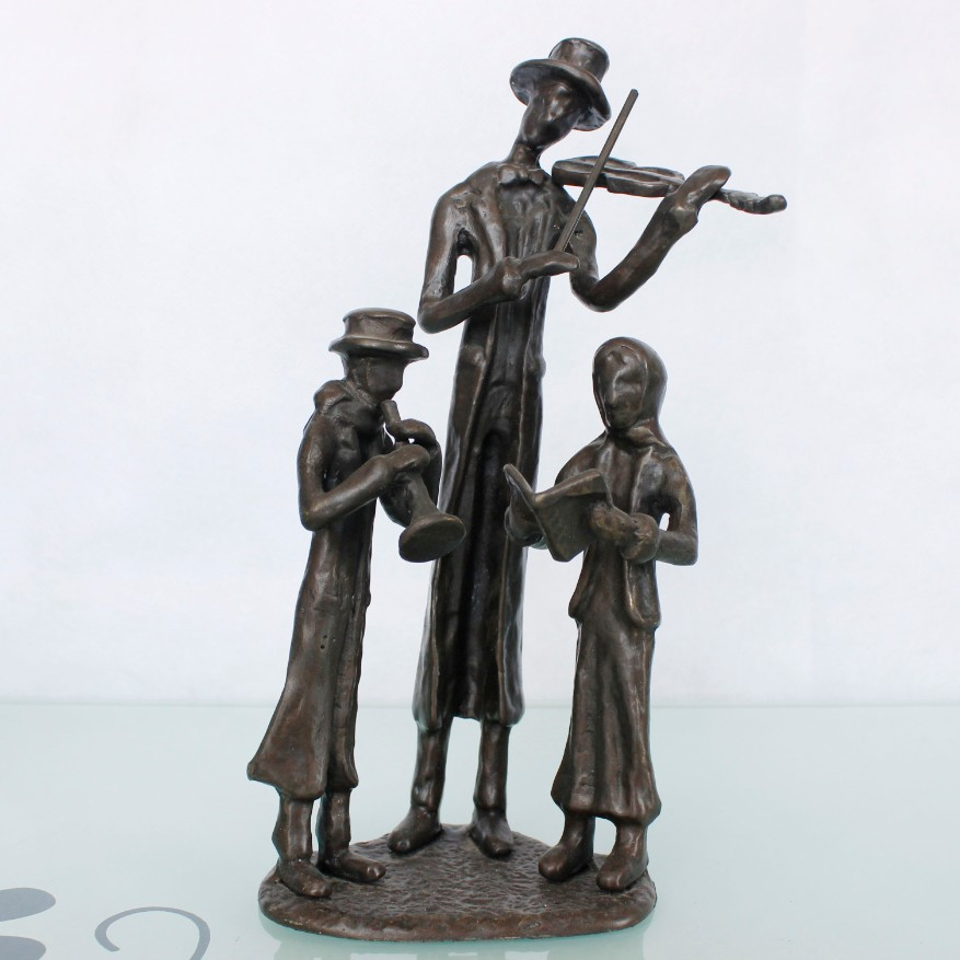The Christmas Concerto metal figurines for home decoration 11013-c
