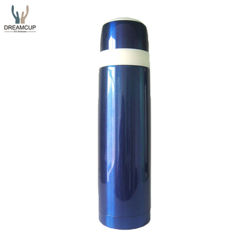 500ML Stainless Steel Double Walled Bullet Type Vacuum Flask/Child Thermos