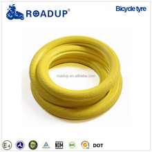 Coloured mountain bike tires yellow bicycle tires 24x1-3/8