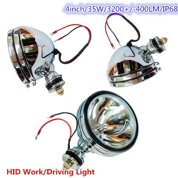 sliver/black offroad 5inch HID Xenon Driving Spot Offroad Light JEEP SUV 4WD xenon hid head light