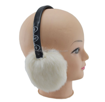BT-309B 2017 hot sale new style soft fur fluffy ear muffs for winter