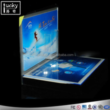 Most popular led cigarette display case for advertising