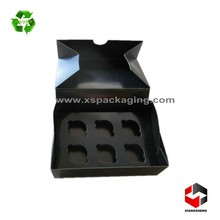 food grade cheap mini paper cupcake box