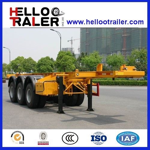 Road Transport container skeleton trailer for sale